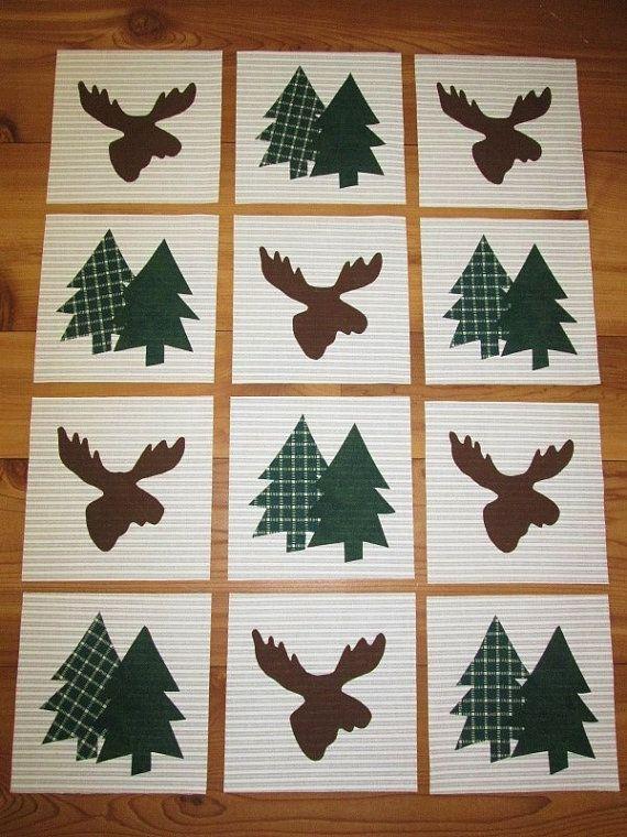 Best 25 Moose Quilt Ideas On Pinterest Toddler Blanket