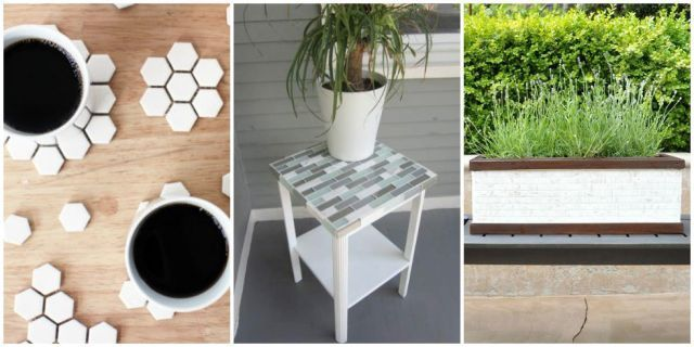8 Clever Ways to Use Up Leftover Tile  - HouseBeautiful.com
