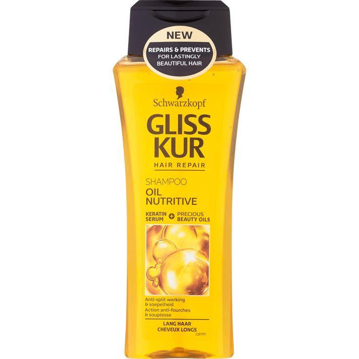 Schwarzkopf Gliss Kur Oil Nutritive Shampoo Products Kur