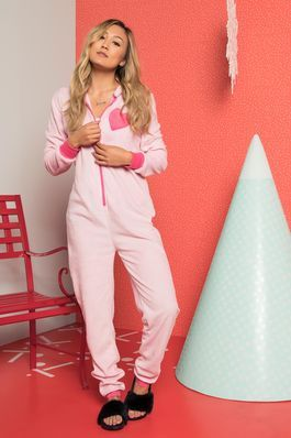 You're a total beast in our pyjama onesies. Zip up with your buds and go from zoo to zzz. Shop now at Ardene.com!