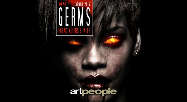 GERMS MAGAZINE - Magazine cover