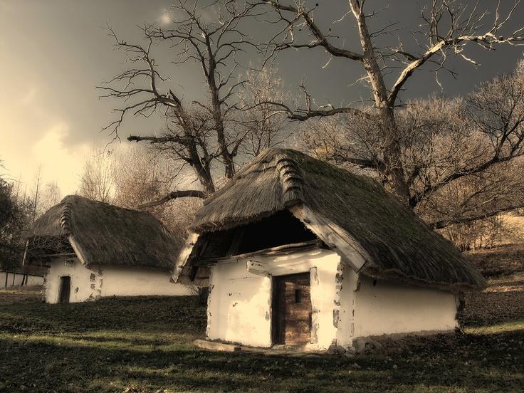 Orseg National Park, Old Wine Cellars in Cak | photo by Laszlo Krizsan.Varázslatos Magyarország