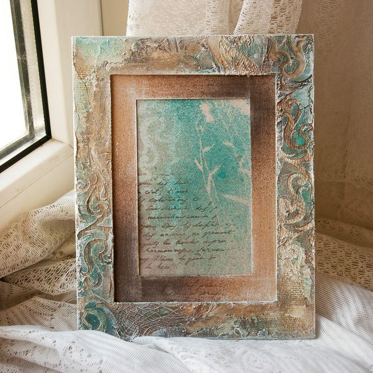 Фоторамки ручной работы - Handmade by Smilla