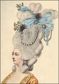 Эпоха рококо - костюм и мода. Франция. Прически. Парики, Шляпы. // Профессиональная школа-студия гримёров Аллы Чури