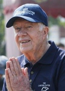 Jimmy Carter.  You may not have liked his politics, but he's a courageous diplomat and Habitat for Humanity has benefited greatly from his work.American Presidents, Jimmy Carter, Presidents Years, Basic Human, Carter Center, Carter Habitat, Presidents Carter, 39Th Presidents, Admire