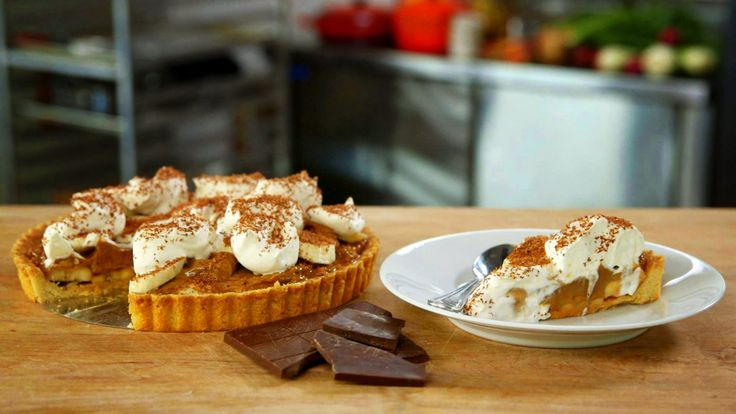 "Banoffee Pie - Chef April Bloomfield has impeccable taste, especially when it comes to food. So when she says, ""this is the best dessert ever,"" you take note and make whatever that dessert is immediat…"