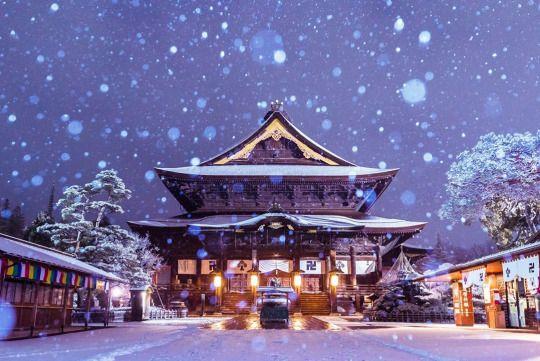 Zinko-ji, Nagano
