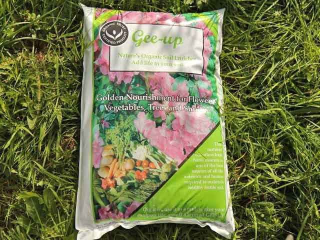 Gee Up Manure Organically Certified 40L#compost #soil #gardening