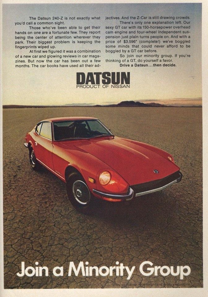 Nissan 1970s