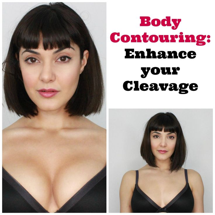 Enhance Your Cleavage- Body Contouring with Makeup