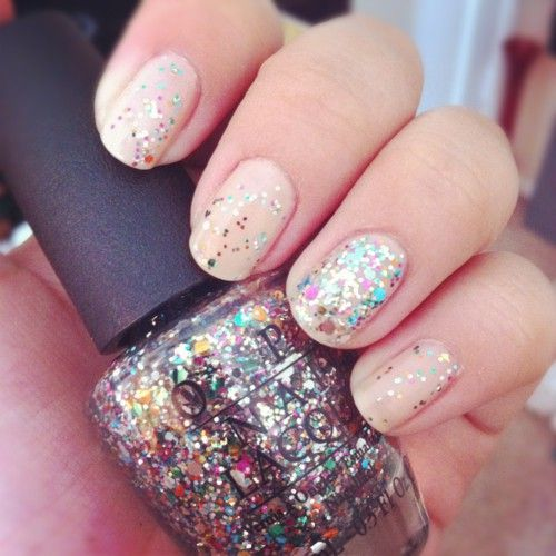 : Glitternails, Nails Art, Rainbows Connection, Nailpolish, Glitter Nails, Glitter Polish, Nails Polish, The Muppets, Opi Rainbows