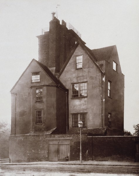Canonbury Tower, London, home of Thomas Cromwell until his execution.