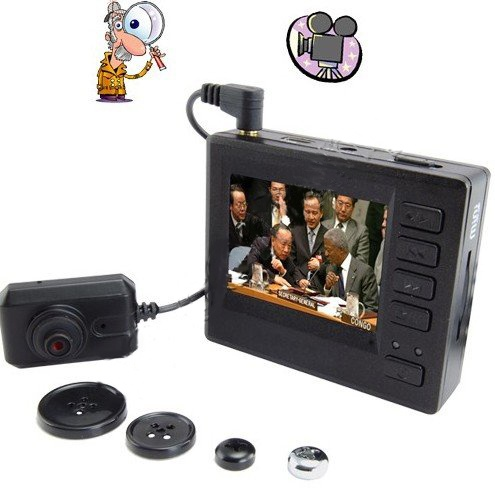 $149.99 The coolest Spy Button Camera I have ever seen.: Cameras Photos, Pinhole Spy, Mini Pinhole, Spy Camera, High Definition, Button Camera, Definition Mini, Spy Camcorder, Spy Button