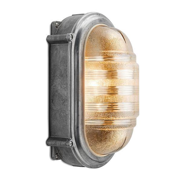 Large wall lamp cast aluminium