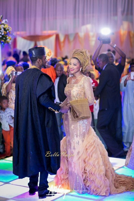 BellaNaija Weddings presents Safiya Aliyu & Umar Isa Yuguda's Glorious Northern Wedding! Atilary Photography