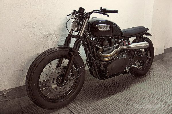 triumph bonneville by crd picture