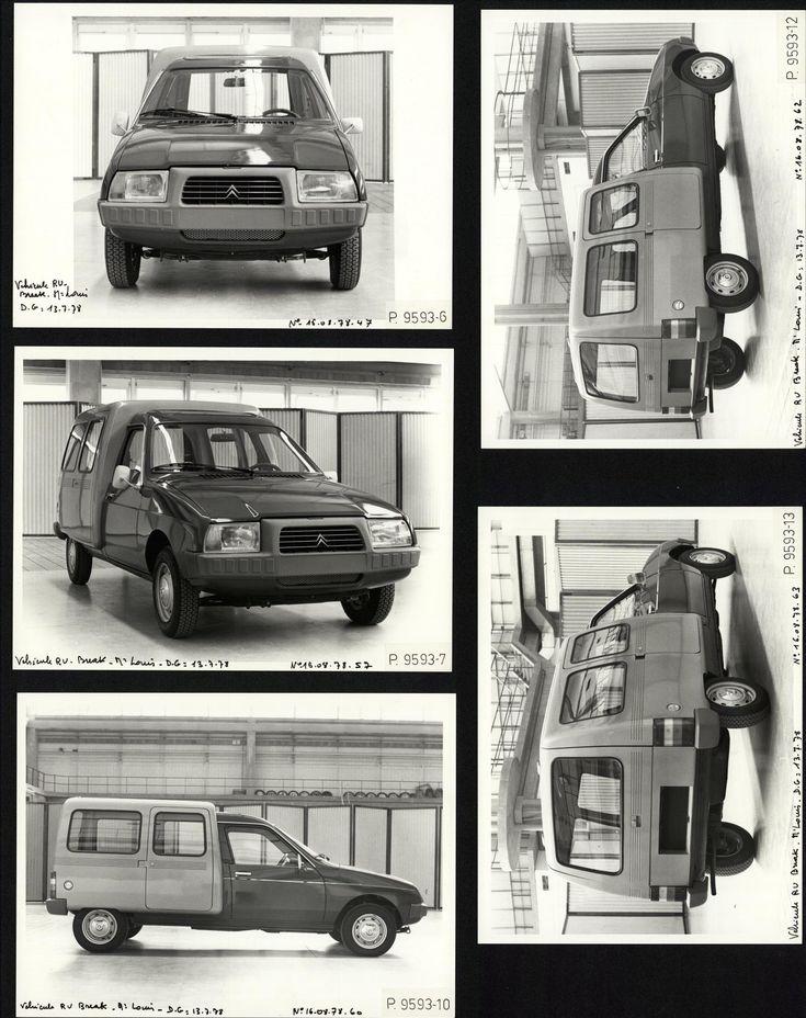 Prototype  Citroen C15 1978
