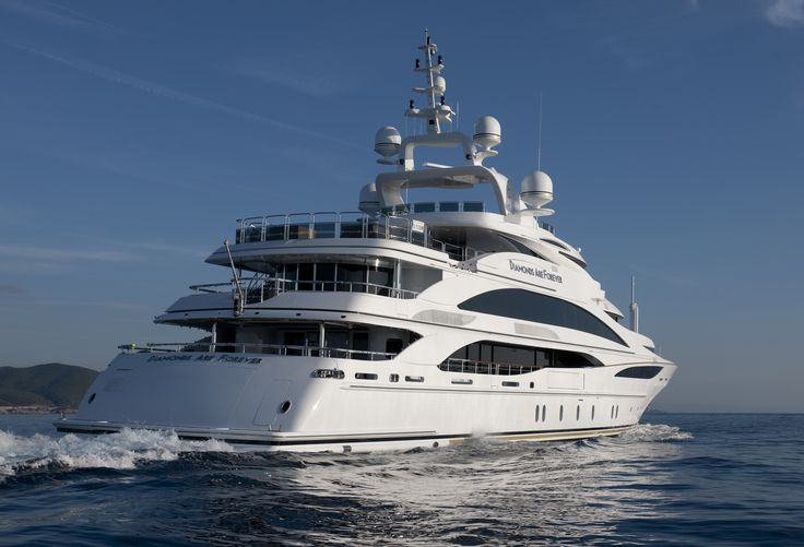 Diamonds Are Forever, Benetti Yachts