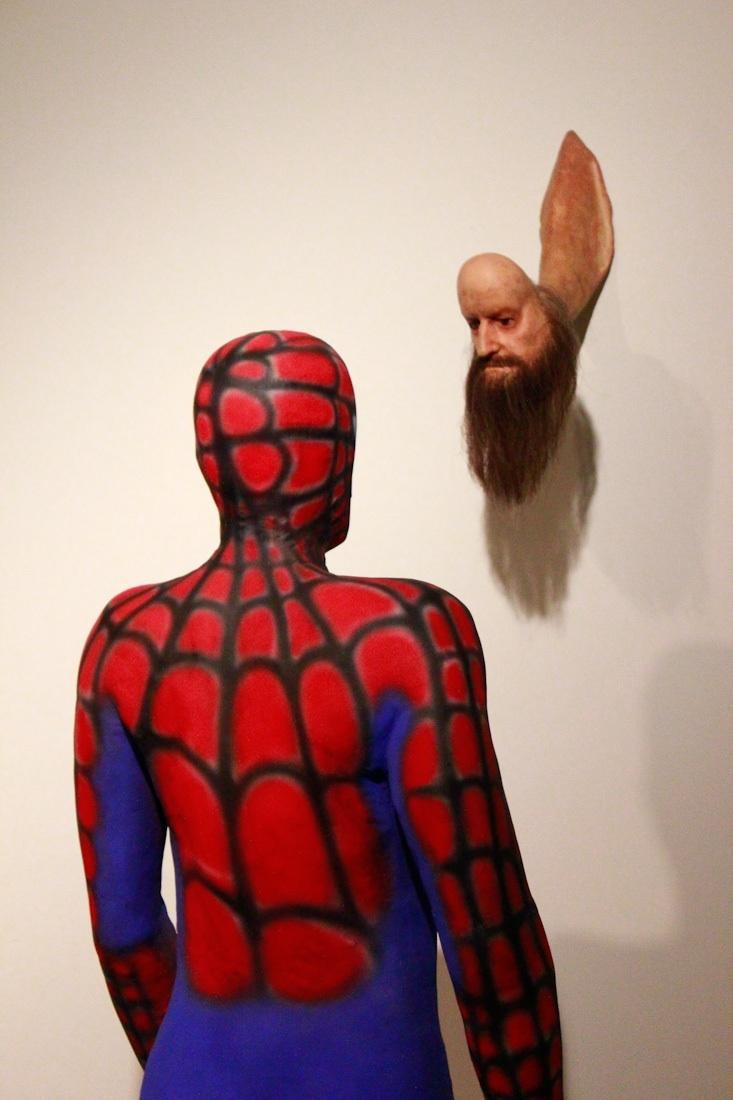 Spiderman meet Osama