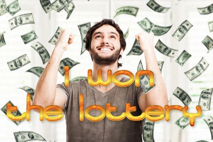 I won the lottery make money now winning the lottery