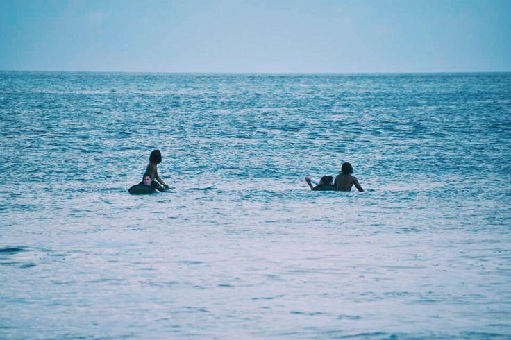 Surfing @ Kuta beach Bali