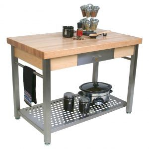 Oak Kitchen Work Table