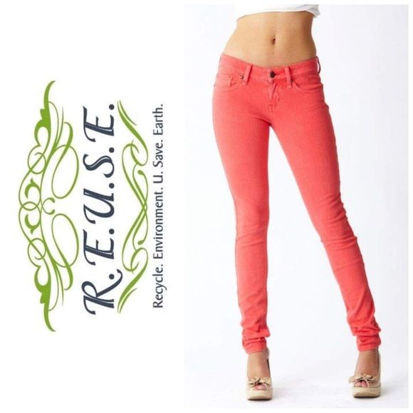 REUSE Jeans   size 30   made from recycled denim Women's REUSE brand denim   size 30   made from recycled denim   super soft!!!  link: http://www.reusejeans.com/Skinny-Jeans-at-Reuse-CID266.aspx  🚫 Trades 🚫 Mercari 🚫 Holds ❌ Smoke free & pet free environment ✋🏼 Offers considered through the offer button 📬 Same/ next day shipping ♻️ If it's listed, it's available Reuse Jeans