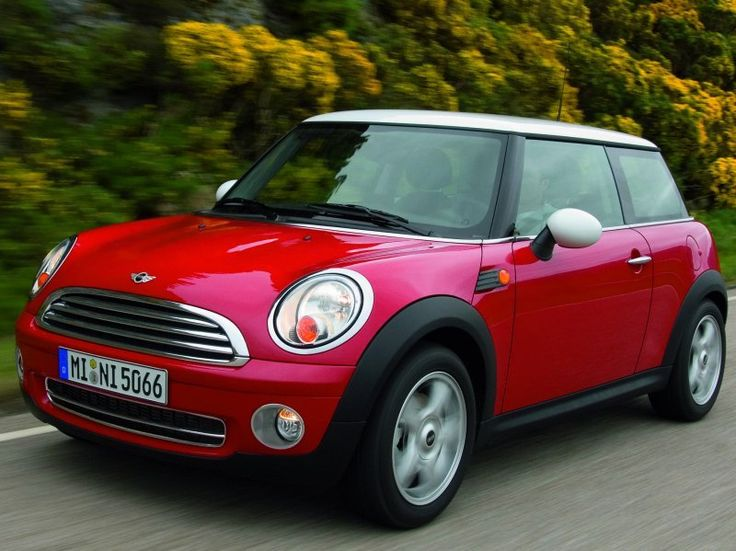 """I love mini coopers. When I saw these in the movie """"The Italian Job"""" I fell in love with this car."""