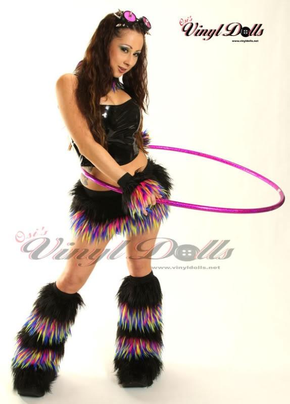 Hula Hoop Dancer Raver Girl Outfits