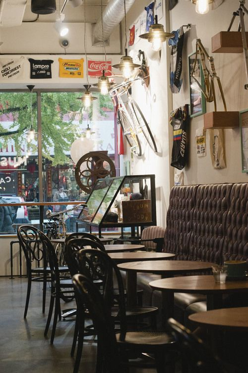 Musette Caffe in Vancouver's Chinatown, is as serious about cycling as they are about a seriously good cup of coffee The Local Visitor | A Guide to Vancouver from Locals