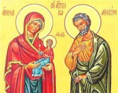 Περιβόλι της Παναγιάς: Η Προσευχή της Αγίας Άννης για την ατεκνία της