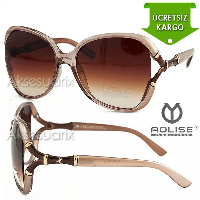 Vintage Aolise  Bayan Güneş Gözlüğü T51147 VİZON http://www.aksesuarix.com/bayan-gunes-gozlugu