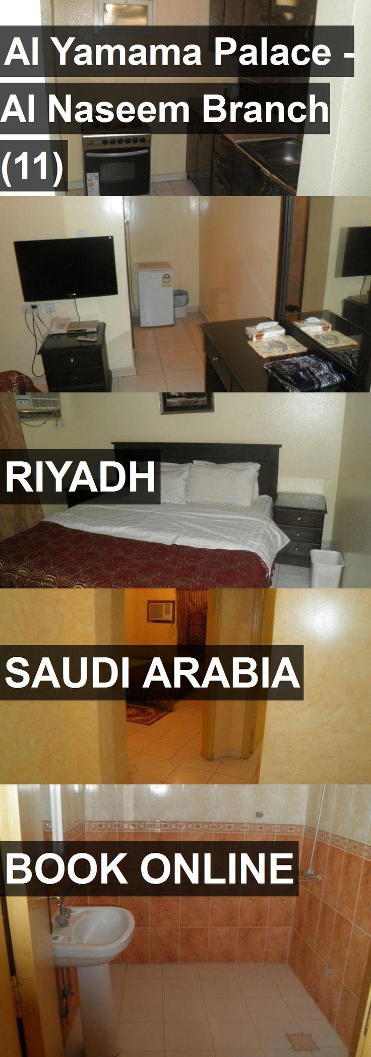 Hotel Al Yamama Palace - Al Naseem Branch (11) in Riyadh, Saudi Arabia. For more information, photos, reviews and best prices please follow the link. #SaudiArabia #Riyadh #travel #vacation #hotel