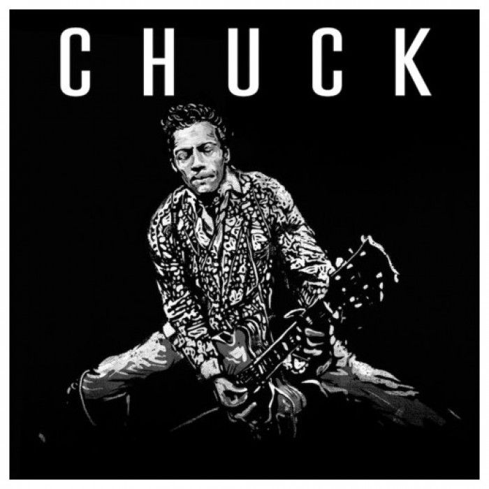 "Chuck Berry's Chuck album pressed on one 12"" vinyl disc. CHUCK,' the final album and first new recordings in nearly four decades by founding rock and roll legend Chuck Berry, who passed away on the 18th March 2017 at the age of 90."