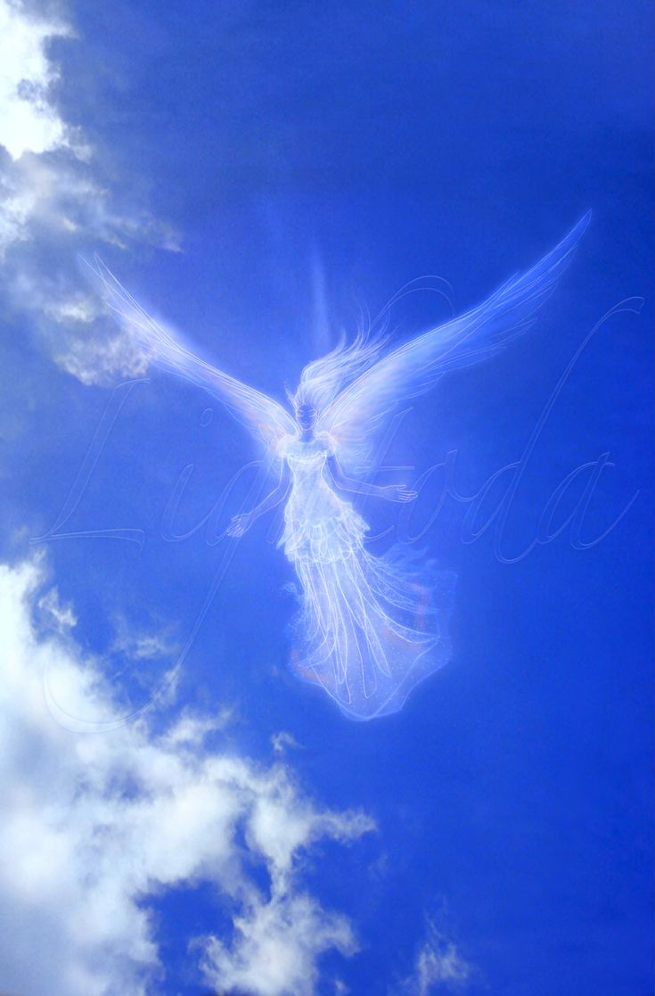 большинстве случаев летящий ангел картинки это изображение