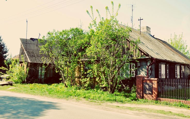 Budynki przy ulicy Spokojnej.