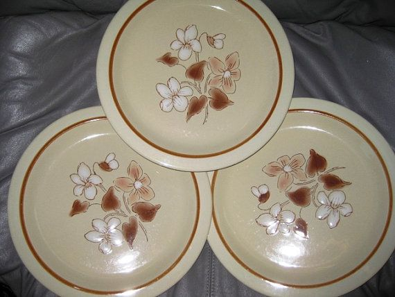 Rare Finesse Stoneware Dinner Great Set of Three by ChinaGalore, $30.00