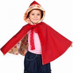 Red Riding Hood coat Capa disfraz Caperucita Roja 2-5 years