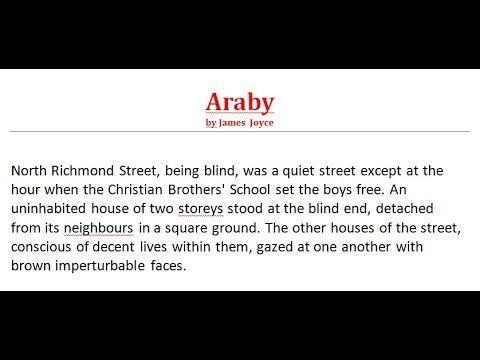 Araby by James Joyce, Part-2   বাংলা লেকচার   Prose