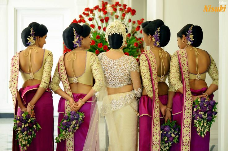 Love love everything about this! Gorgeous Back detailing, Bridal and bridesmaids.