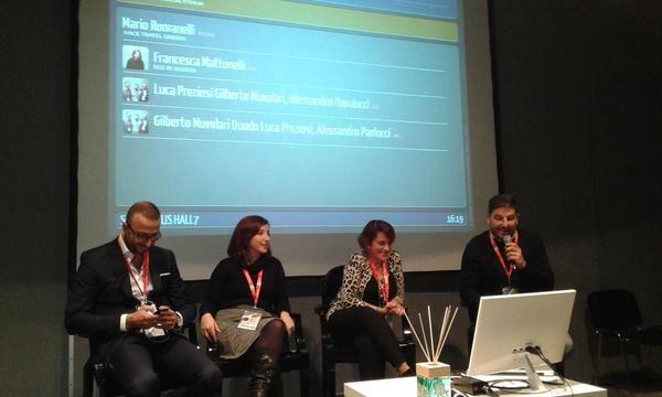 Il racconto social dell'Umbria con #altrasimeno  alla #BTO2014 foto di @umbriatourism