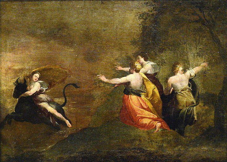 The Rape of Europa  Francisco Goya 1772 Romanticism
