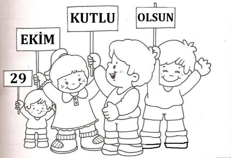 #cumhuriyetbayramı #boyamasayfaları#cumhuriyet#bayrak