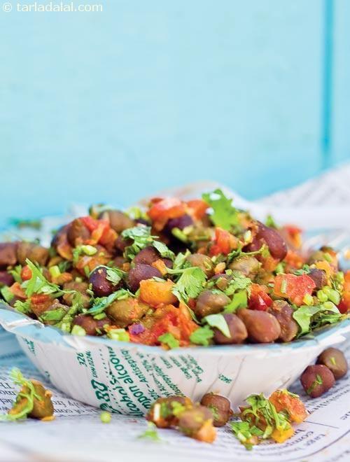 Masala Chana ( Mumbai Roadside Recipes ) recipe | Masala Chana Recipes | by Tarla Dalal | Tarladalal.com | #33446
