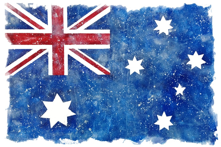 Australian Flag -why can't we have this as the basis of our Olympic uniforms? Why did we have to have Big Bananas on Bikes? There is no-one that looks good in all yellow lycra suits and the combo of green/yellow looks horrible on even the best and fittest of bodies.