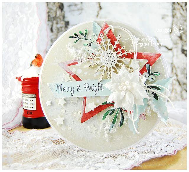 Bee Scrap - polski producent papierów do scrapbookingu: Merry & Bright