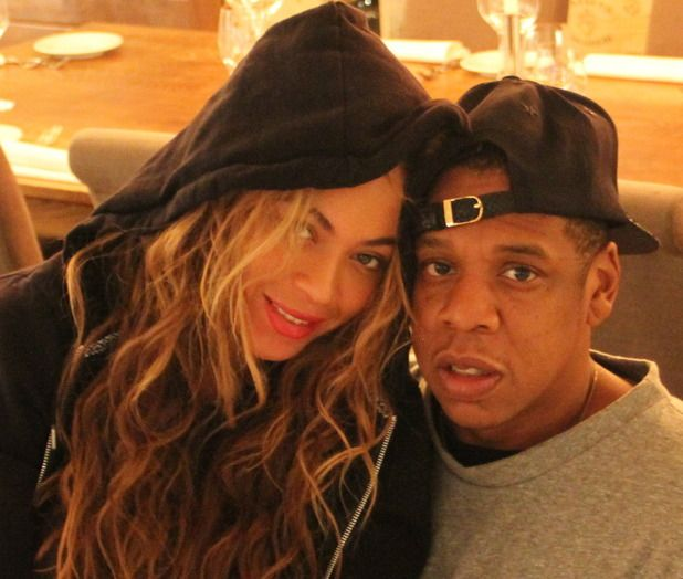 One of my favorite images of Beyoncé and Jay Z
