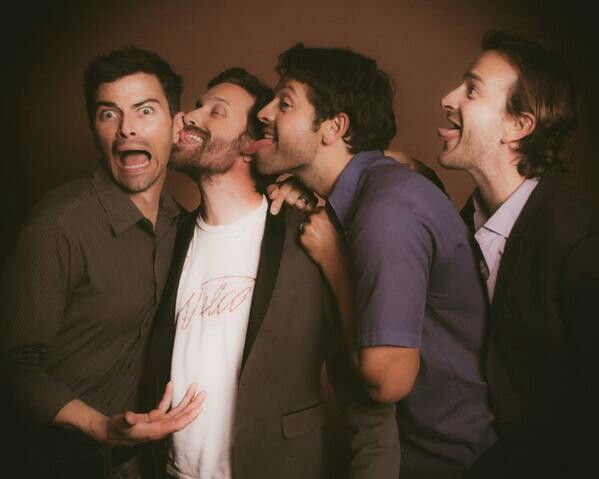 Matt Cohen, Rob Benedict, Misha Collins & Richard Speight Jr. My idols, everyone.