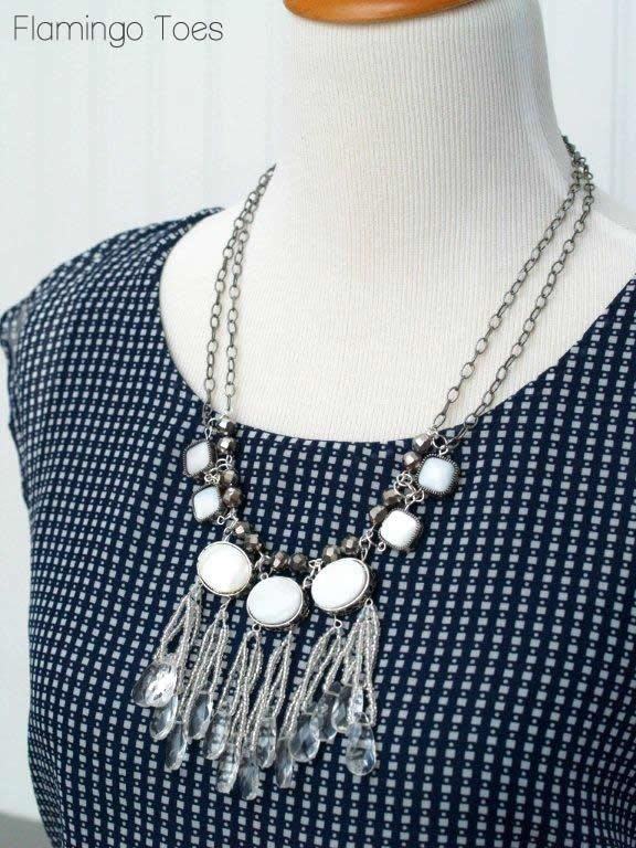 Ice Drops Necklace Tutorial