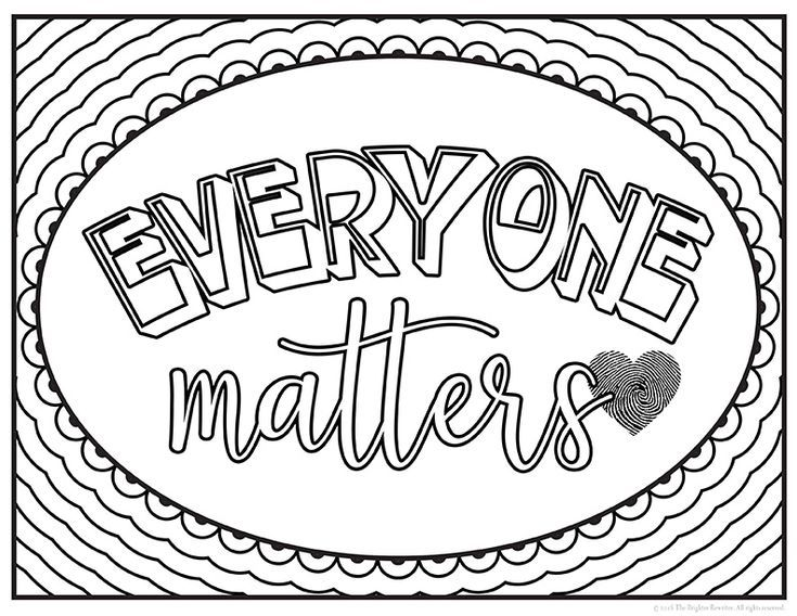 Kindness Coloring Pages Set 1 Quote Coloring Pages Coloring Pages Love Coloring Pages